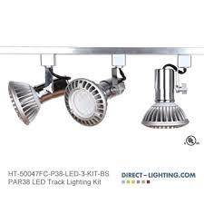 Brushed Nickel Track Lighting Led Track Lighting Kits Kichler Lighting 7704 Hatteras Bay 4 Light
