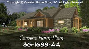 small craftsman cabin house plan chp sg 1688 aa sq ft affordable