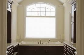 bathroom peaceful roller window blind over toilet feat large