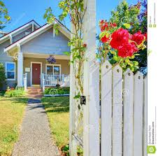 Small Lot Home Plans Attractive Small Lot Home Plans 6 Small House White Fence Roses