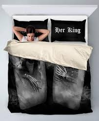 his and hers bed set and king bedding set
