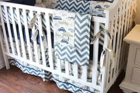 Woodland Nursery Bedding Set by Vintage Cars Boy Crib Sets Boy Crib Bedding Cars Bedding For