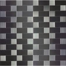 trendy self adhesive kitchen metal wall tiles allen roth metal