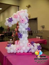 balloon arrangements for birthday party decorations miami balloon sculptures ballerina