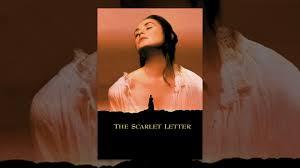 the scarlet letter youtube