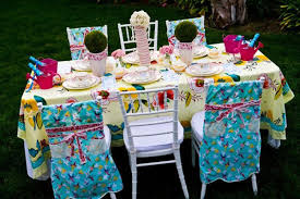 chair covers for baby shower adorable table using aprons as chair covers tips party
