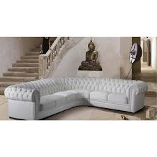 canap chesterfield d angle canapé chesterfield blanc fashion designs