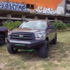 tundra truck wiy custom bumpers toyota tundra trucks move