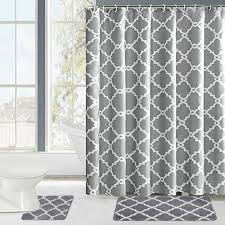 Shower Sets For Bathroom Best Shower Curtain Sets 2018 Reviews Besttopnow