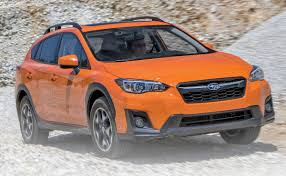 subaru orange crosstrek crosstrek redesigned to take on newcomers