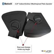 The Good One Patio Jr by Amazon Com Bluetooth 5 25 Indoor Outdoor Weatherproof Patio