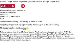 Interior Designers Institute National Design Awards Cooper Hewitt Smithsonian Design Museum