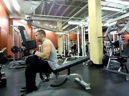 Incline Dumbell Bench Press 145 X 5 Low Incline Dumbbell Bench Press Youtube