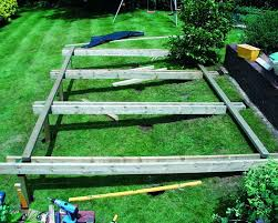 Decking Ideas For Sloping Garden Decking Built Into A Sloping Bank The Shop And Shed