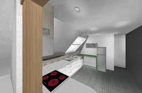 küche in dachschräge kleine küche in dachschräge