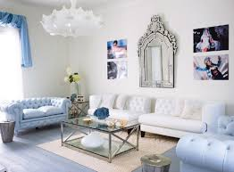 delectable 20 blue white living room decorating ideas design