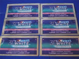 crest 3d gentle routine sensitive professional whitestrips teeth