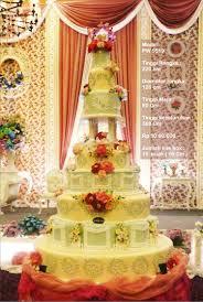 wedding cake pelangi wedding cake 7 tiers by pelangi cake bridestory