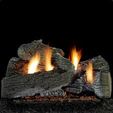 white mountain hearth by empire 24 inch super wildwood gas log set