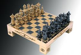 fancy a solid gold diamond encrusted chess set for 370 000