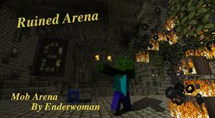 Arena Maps Ruined Arena 1 4 Mob Arena Minecraft Project