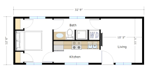 neat design small house floor plans under 400 sq ft 7 500 to 600