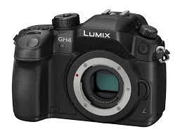 panasonic lumix gh4 mirrorless camera body only black dmc