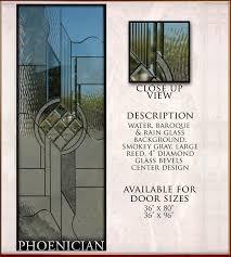 Exterior Door Inserts Glass Window Door Inserts Cbell Ca Custom Glass Front Door