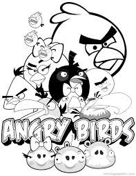 angry birds coloring pages 5 coloring kids