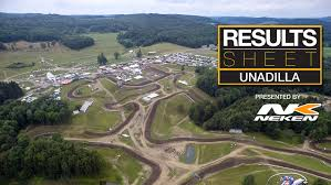pro motocross results results sheet unadilla motocross feature stories vital mx