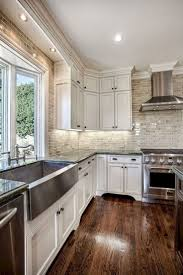 kitchen ideas wallpaper backsplash looks like tile black kitchen