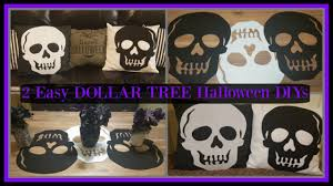 halloween pillows dollar tree diy halloween skull pillows and table runner home