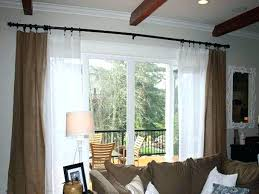 Insulated Patio Doors New Drapes For Patio Doors Or Image Of Ruffled Patio Door Curtains