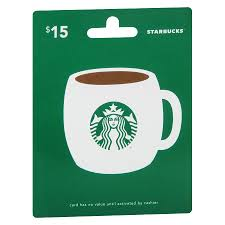 15 gift cards starbucks 15 gift card walgreens