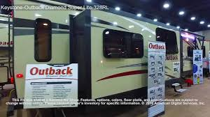 keystone outback diamond super lite 328rl youtube
