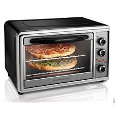 Breville Toaster Convection Oven Amazon Com Hamilton Beach 31104 Countertop Oven With Convection