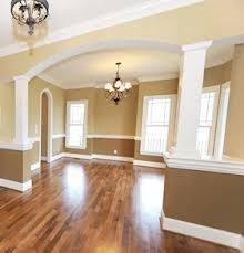 painting a living room living room paint divider ideas two toned two tone walls pic 17