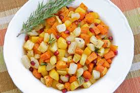 food blogga thanksgiving side dish recipe roasted root