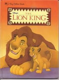 disneys lion king big golden book justine korman paperback