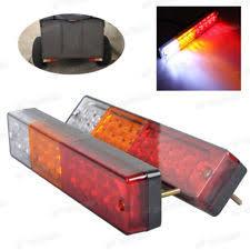 submersible led boat trailer lights 2x 24v led tail lights caravan truck van boat rear stop indicator
