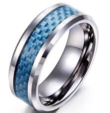 men promise rings 5mm blue inlay titanium men s promise rings just promise rings