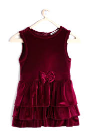 koton kids koton kids elsa dress in bordeaux