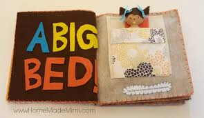 make a diy felt book home made mimihome made mimi
