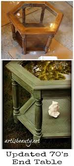 refinishing end table ideas awesome paisley stenciled table theresa s very first stencil