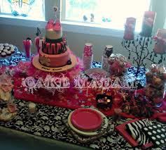 punk rock baby shower dessert table3 mary katherine flickr