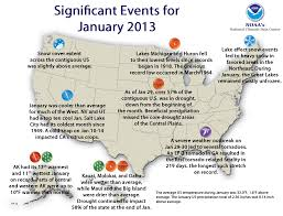 us cover map noaa national climate report january 2013 state of the climate