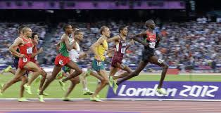 rio olympics 2016 why do the track athletes run the 1500 meters