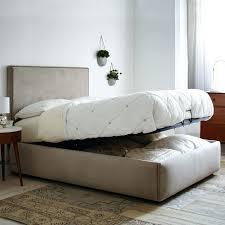 Tv Storage Bed Frame Lift Bed Frame Storage Gas Lift King Single Bed Frame Black Tv