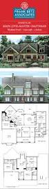 craftsman style home plans designs walden pond 3325 sqft 4 bdrm main level master craftsman house