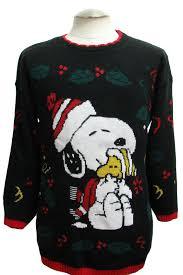 snoopy christmas sweatshirt 1980 s retro christmas sweater 80s authentic vintage snoopy
